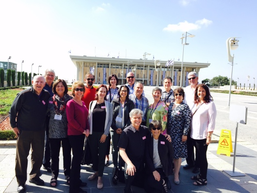 TIOH Leadership Mission at Knesset